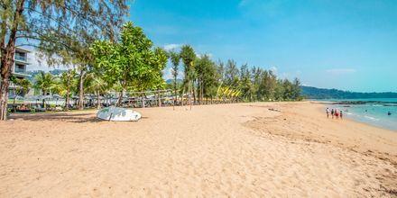 Läheinen ranta. Hotelli La Vela Khao Lak, Thaimaa.