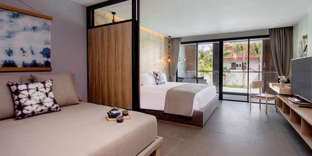 Perhehuone. Hotelli La Vela Khao Lak, Thaimaa.