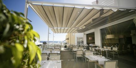 Italialainen à la carte ravintola Tosca. Hotelli Lagos de Fañabé, Playa de las Americaksen lähellä, Teneriffa.