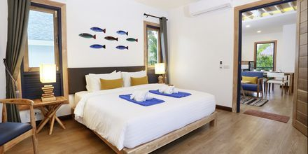 Allasbungalow, hotelli Lanta Casa Blanca. Koh Lanta, Thaimaa.