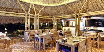 Ravintola, hotelli Lanta Casa Blanca. Koh Lanta, Thaimaa.