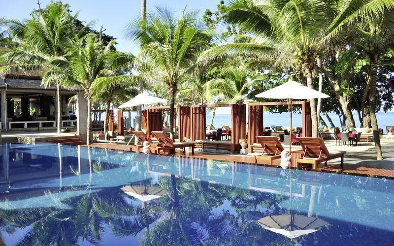 Allas. Hotelli Lanta Sand Resort & Spa, Koh Lanta, Thaimaa.