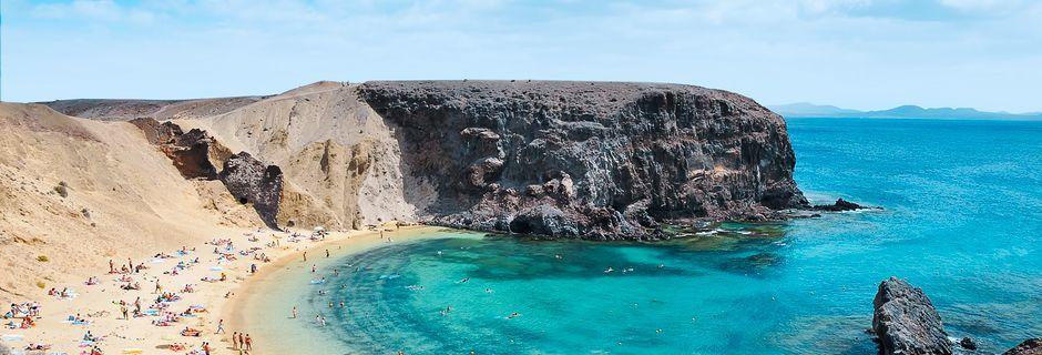 Lanzarote - Papagayo-ranta