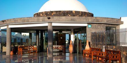 Sisäänkäynti, Hotelli Las Marismas, Fuerteventura.