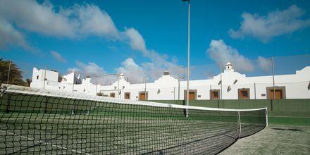 Tennis, Hotelli Las Marismas, Fuerteventura.