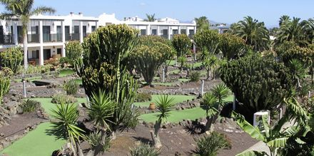 Minigolf, Hotelli Las Marismas, Fuerteventura.