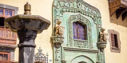 Casa de Colón, palatsi jossa Kristoffer Columbuksen sanotaan asuneen vuonna 1492.