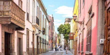 Kävele läpi viihtyisien kujien Las Palmasissa.