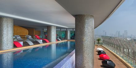 Allas, hotelli Le Meridien Saigon, Vietnam.