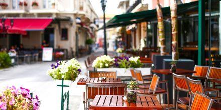 Lefkaksen kaupunki, Kreikka