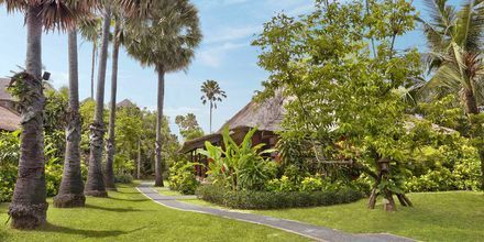 Bungalow, hotelli Legian Beach. Kuta, Bali.