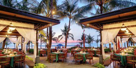 Lais Restaurant, hotelli Legian Beach. Kuta, Bali.