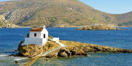 Agios Isidorosin kappeli. Leros, Kreikka.