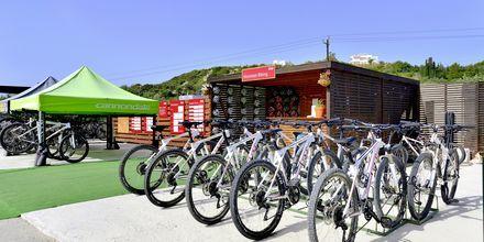 Pyöränvuokrausta, Hotelli Levante Beach Resort, Rodos