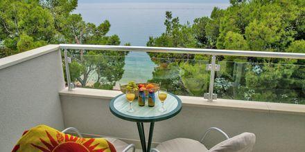 Yksiö. Hotelli Libertas, Makarska, Kroatia.