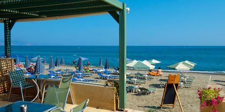 Snackbaari. Hotelli Lissos, Platanias, Kreeta, Kreikka.