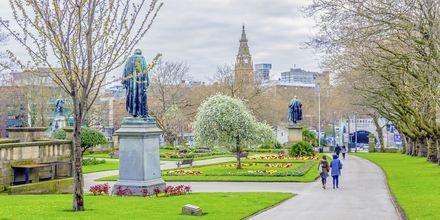 Saint John Garden, Liverpool, Englanti.