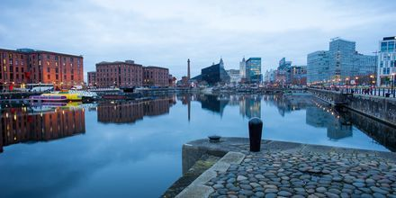 Albert Dock, Liverpool, Englanti.