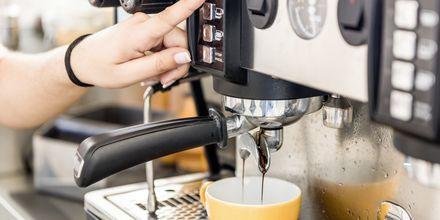 Apollon oma kahvi -ja mehubaari Mondo Café.