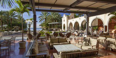 Lounge, Hotelli Lopesan Costa Meloneras Resort Spa & Casino, Meloneras, Gran Canaria.