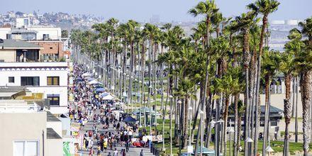 Allén Ocean Boardwalk Venice Beachillä.