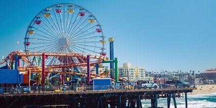 Santa Monica Pier ja karuselli.