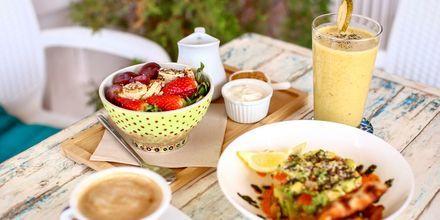 Nauti lomallasi hyvästä ruoasta.