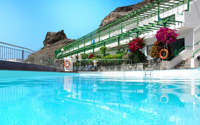 Hotelli Los Veleros. Puerto Rico, Gran Canaria.