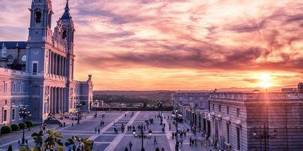 Yksi Madridin kauneimmista nähtävyyksistä on Catedral de la Almudena, roomalais-katolinen katedraali.
