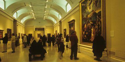 Madridin Pradon museo on yksi maailman tunnetuimmista taidemuseoista.