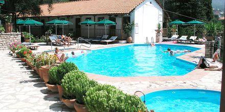 Allas. Hotelli Magda's, Parga, Kreikka.