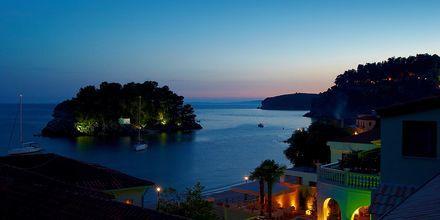Näkymä hotellista, Hotelli Maistrali, Parga, Kreikka.