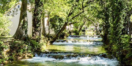 Lähde retkelle Krkan luonnonpuistoon.