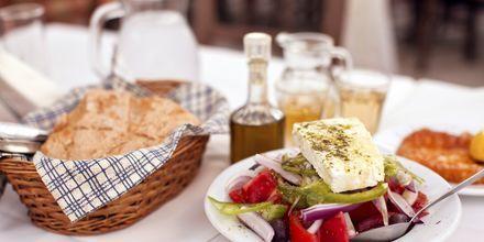 Kreikkalaista ruokaa.