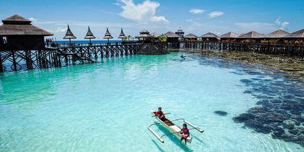 Mabul Island on kaunis saari Sabahsin kaakkoisrannikolla.