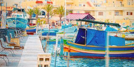 Marsaxlokkin kalastakylä Maltalla – tätä suosittelemme lämpimästi!