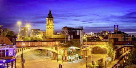 Manchester sopii täydellisesti niin shoppailusta kuin jalkapallosta kiinnostuneille.