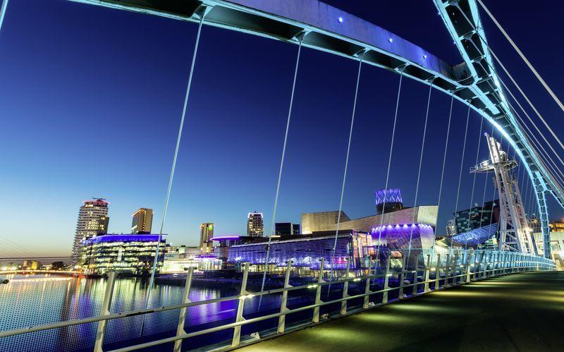 Salford Quays, Manchester, Englanti.
