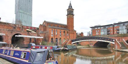 Kanaali Castlefieldissä, Manchesterissa.