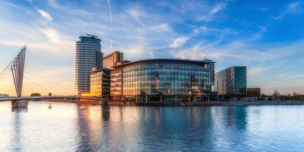 Manchester, Englanti.