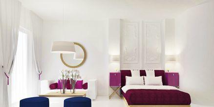 Sviitti. Hotelli Mar & Mar Crown Suites, Santorini, Kreikka.