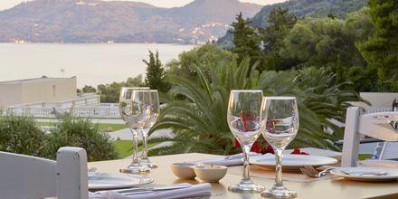 Kreikkalainen ravintola Platea, Hotelli MarBella Corfu, Kreikka.
