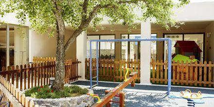 Leikkipaikka, Hotelli MarBella Corfu, Kreikka.