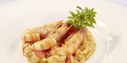 Nauti hyvästä ruuasta, Hotelli MarBella Corfu, Kreikka.