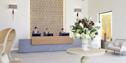 Vastaanotto, Hotelli MarBella Nido Suite Hotel & Villas, Korfu.