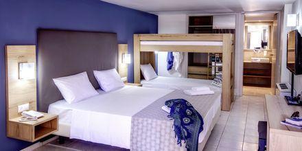 Perhehuone, Hotelli Marina Beach, Gouves, Kreeta.