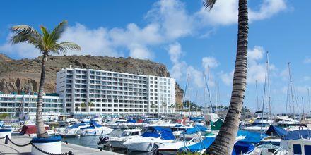 Läheinen satama, Hotelli Marina Suites, Puerto Rico, Gran Canaria.
