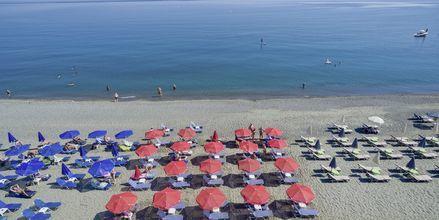 Läheinen ranta. Hotelli Mary, Platanias, Kreeta, Kreikka.