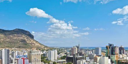 Pääkaupunki Port Louise, Mauritius.