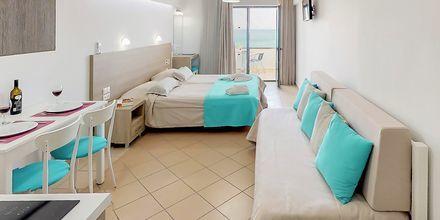 Yksiö. Hotelli Medusa, Rethymnonin kaupunki, Kreeta, Kreikka.